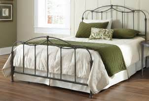 affinity iron bed in blackened taupe humble abode