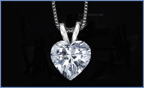 cadena de oro blanco para dama g c fino dije de corazon cadena de oro blanco 10k dama