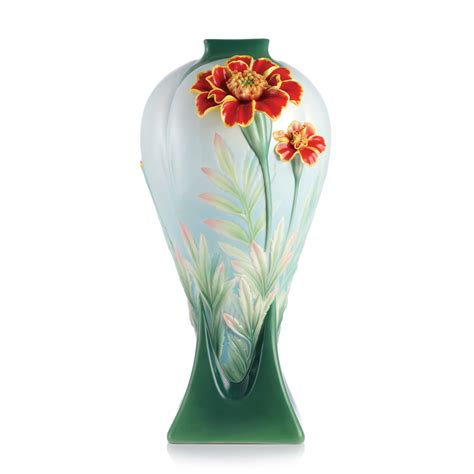 franz porcelain vase franz collection porcelain longevity marigold vase