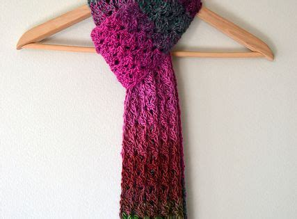 braided scarf with red heart unforgettable yarn my isar scarf use red heart boutique unforgettable or lion