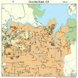 oroville east california map 0654388