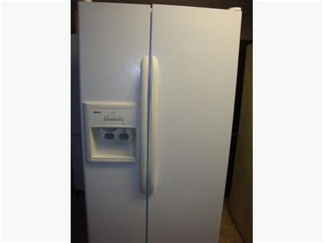 Water Dispenser On Fridge Not Working kenmore side by side fridge with maker and water