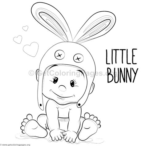 little bunny coloring pages little bunny boy coloring pages getcoloringpages org