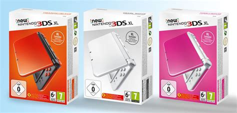 nintendo 3ds xl colors new nintendo 3ds xl gets new colors in europe and uk