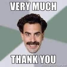 Thank You Very Much Meme - risultati immagini per thank you meme makes me smile