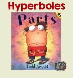 picture books to teach figurative language hyperbole poems below is exle poems use hyperbole