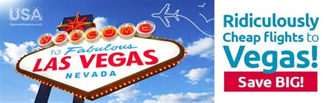 ridiculously cheap flights to las vegas