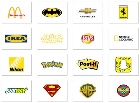 It S Yellow top 20 logos designed in yellow
