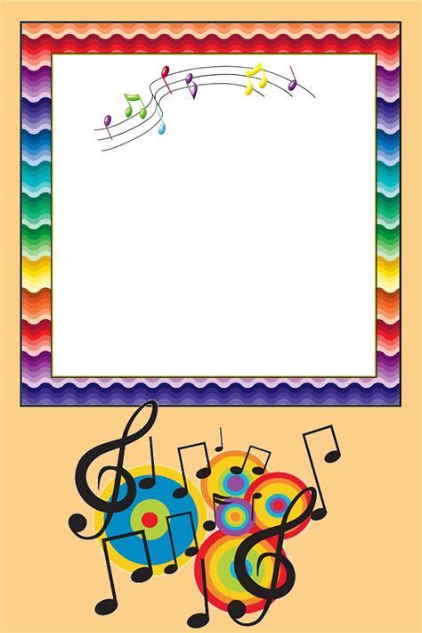 imagenes tema musical notas musicais kit completo com molduras para convites