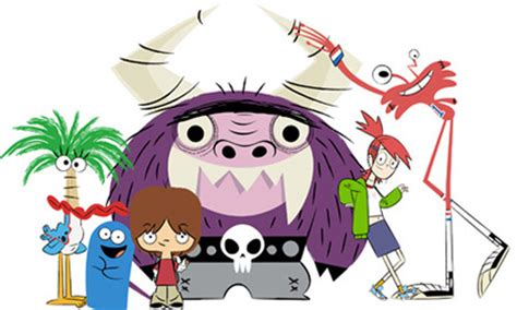 Foster Home For Imaginary Friends by Drawing On Deadline Network 20th Anniversary