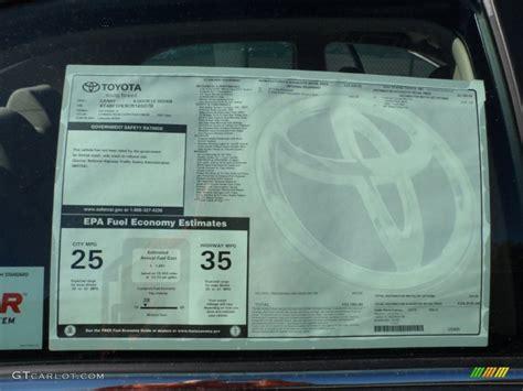 Toyota Window Sticker By Vin Toyota Monroney Sticker By Vin Number Autos Post