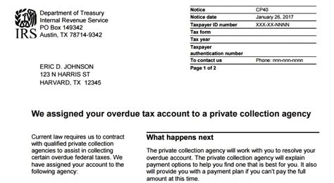 letter from irs tax news by christopher irs letter announcing