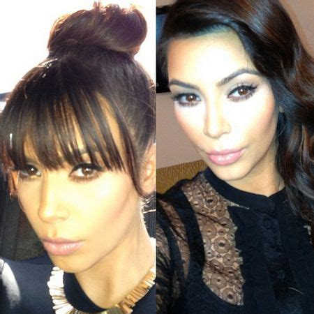 hairstyles to hide growing out bangs how to hide your fringe while growing it out like kim