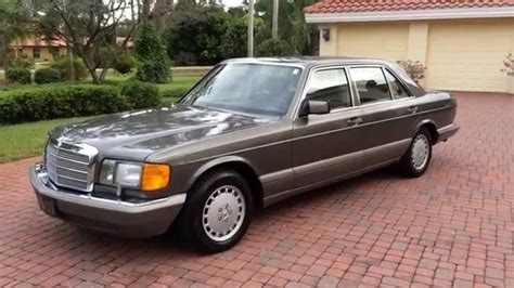 how to sell used cars 1987 mercedes benz e class engine control sold 1987 mercedes benz 560sel w126 for sale by auto haus of naples autohausfl com youtube