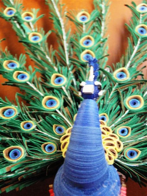 How To Make Paper Quilling Peacock - 141 best images about quilling on miniature
