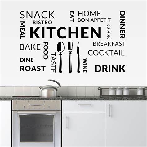 kitchen wall vinyl stickers kitchen vinyl wall sticker cafe restaurant decal food