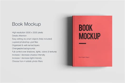 free psd book mockup free design resources