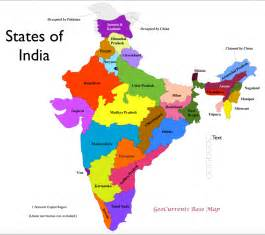 India Map States by India States Map Geocurrents