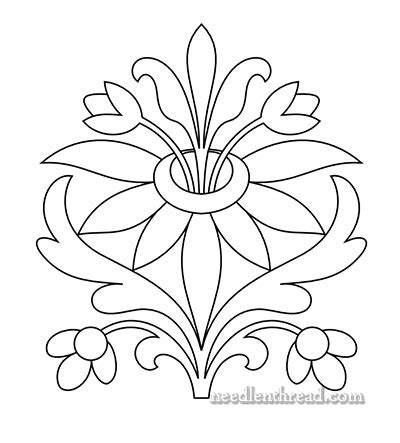 pattern drawing of flower free hand embroidery pattern sprouting floral and your