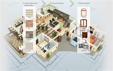 3d floor plan design software floor plan beforeafter home