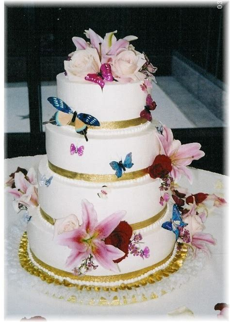 Cake Decorations For Wedding Cakes by Wedding Cakes Top 10 Butterfly Wedding Cake Decorations