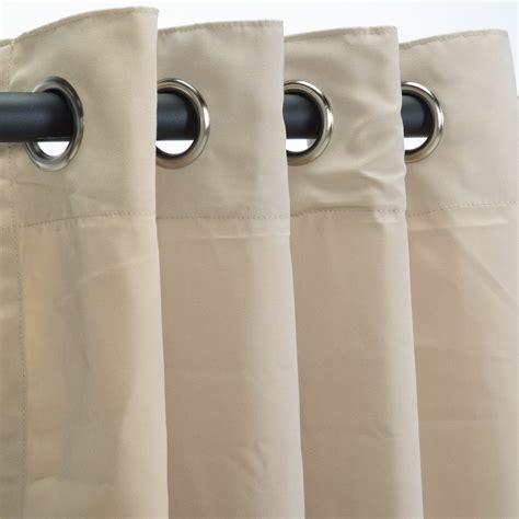 canvas curtains with grommets antique beige grommet sunbrella outdoor curtains