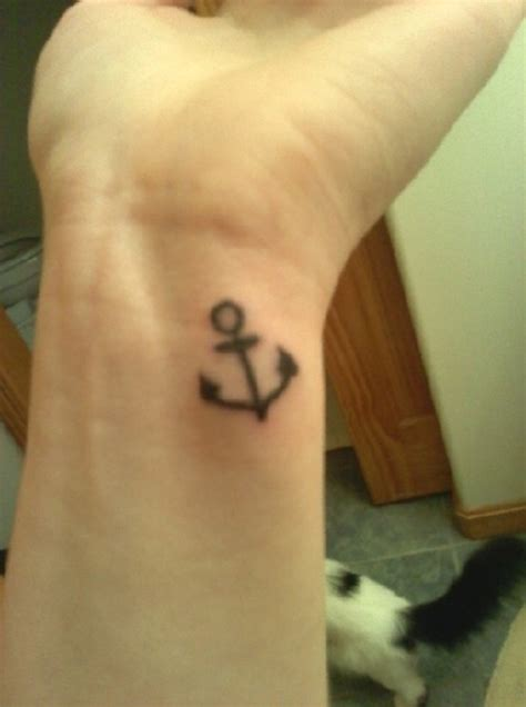 wrist tattoo small 66 attractive anchor wrist tattoos design