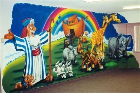 airbrush wall murals jerry s airbrush noah s ark wall murals