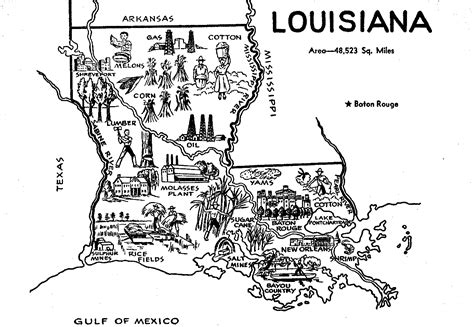 louisiana map clipart free state map downloads crafts