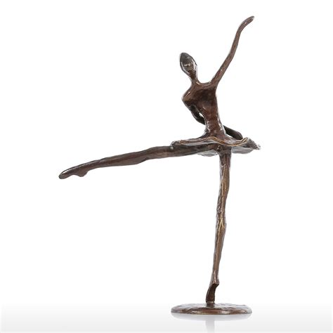 statue for home decoration tooarts statuette ballet modern dance bronze statue metal