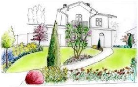 disegno giardino progettazione giardini carmagnola