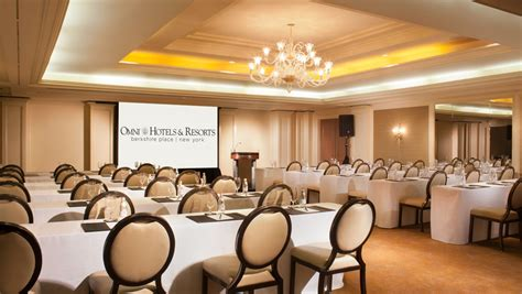 event rooms host your financial conference at a luxury hotel in the of nyc omni berkshire place