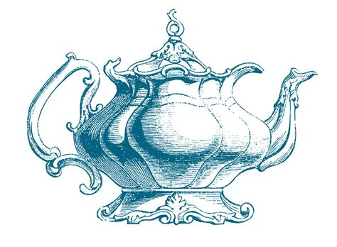retro clip art vintage clip art best teapot ever the graphics fairy