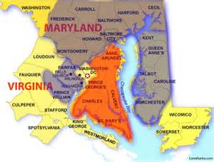 Map Of Virginia And Maryland by Counties Around Washington Dc Pictures To Pin On Pinterest