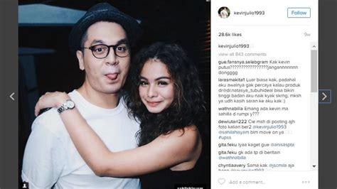 biography kevin julio dalam bahasa inggris dikabarkan putus dengan sahila hisyam instagram kevin