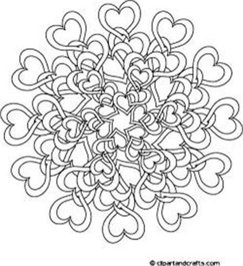 Complex Heart Coloring Page | difficult mandala coloring pages tangled hearts complex