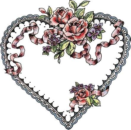 imagenes de corazones hechos con rosas dibujos corazones de flores