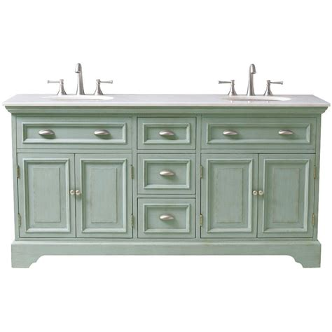 Home Decorators Bathroom Vanity | home decorators collection sadie 67 in double vanity in