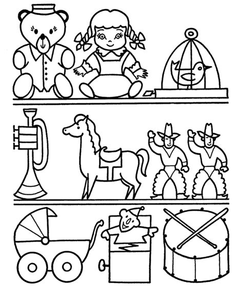 coloring pages toys coloring home