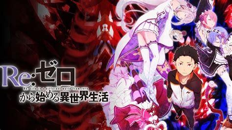 Poster Rezero Kara Hajimeru Isekai Seikatsu 2 animeka afficher le sujet re zero kara hajimeru isekai