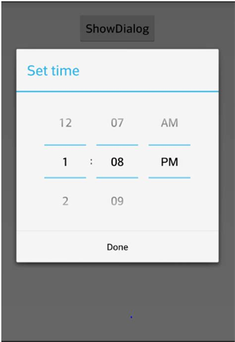 android timepicker alt tag android time picker output image the master world
