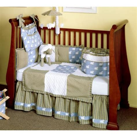 sheep baby bedding counting sheep 4 piece baby bedding set by bebe chic