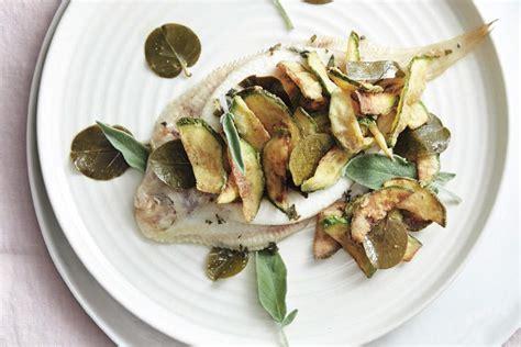 ricetta sogliola con zucchine fritte la cucina italiana