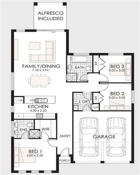plano de casa de un piso 005jpg casas de un piso y tres dormitorios construye hogar