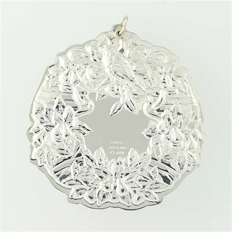 towle 12 days of christmas ornament sterling silver