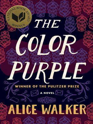 color purple ebook free the color purple by walker 183 overdrive rakuten