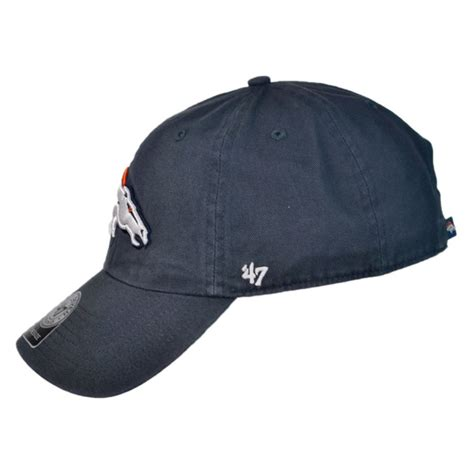 47 brand denver broncos nfl clean up strapback baseball