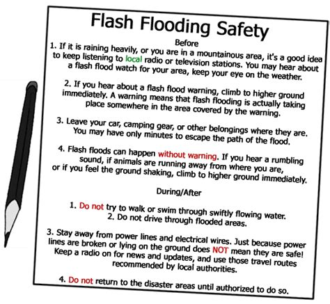 education for geo hazards flash floods education for