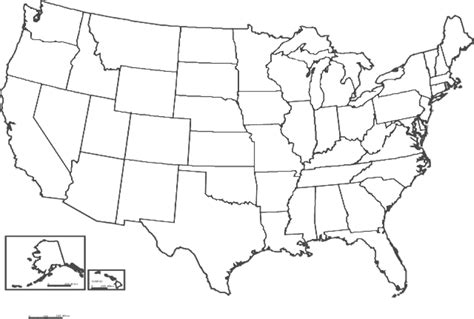 usa map outline image usa map outline clipart clipart suggest