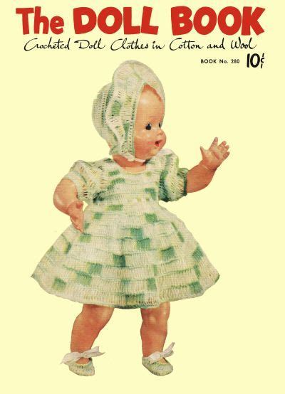 doll clothes pattern books 17 best images about vintage knitting and crocheting pdf